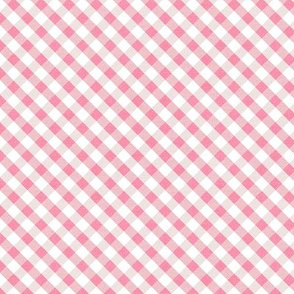 Sleepy Series Pink Gingham Light Ditsy