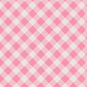Sleepy Series Pink Gingham Mid-tone