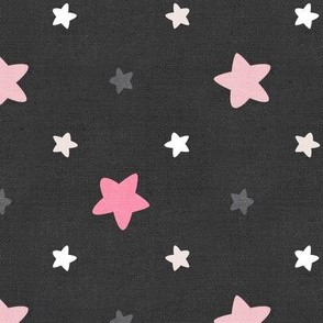 Sleepy Series Pink Stars Dark Jumbo