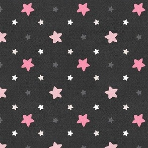 Sleepy Series Pink Stars Dark Large