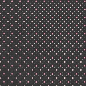 Sleepy Series Pink Stars Dark Ditsy