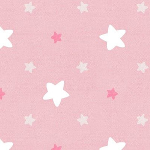Sleepy Series Pink Stars Light Jumbo