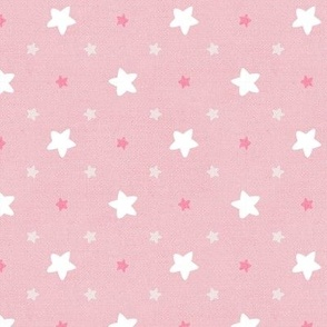 Sleepy Series Pink Stars Light Large