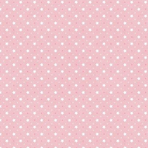 Sleepy Series Pink Stars Light Ditsy