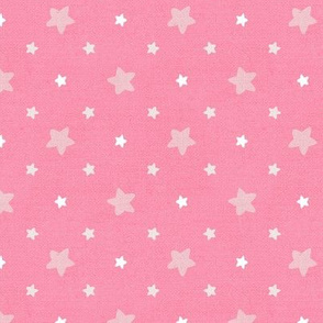 Sleepy Series Pink Stars Mid-tone Large