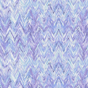 Painted Chevron, violet