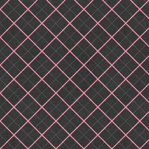 Sleepy Series Pink Tattersall Dark