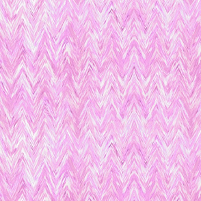 Painted Chevron, blush pink