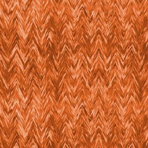 Painted Chevron, orange