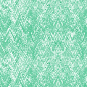 Painted Chevron, mint