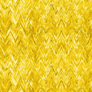 Painted Chevron, yellow