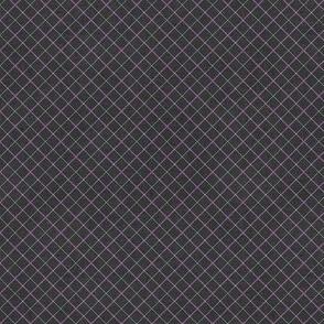 Sleepy Series Lavender Tattersall Dark Ditsy