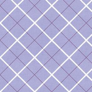 Sleepy Series Lavender Tattersall Mid-tone Large