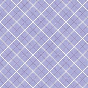 Sleepy Series Lavender Tattersall Mid-tone