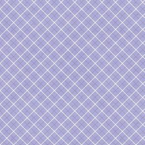 Sleepy Series Lavender Tattersall Mid-tone Ditsy