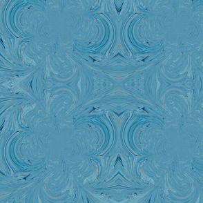 blue liquid