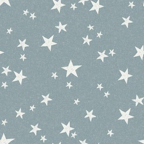 nursery stars fabric - slate sfx4408 - star fabric, stars fabric, kids fabric, bedding fabric, nursery fabric - terracotta trend