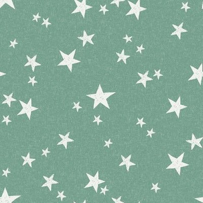 nursery stars fabric - rainforest sfx5815 - star fabric, stars fabric, kids fabric, bedding fabric, nursery fabric - terracotta trend