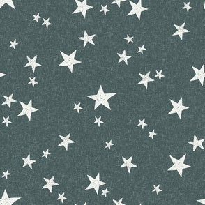 nursery stars fabric - spruce sfx5914 - star fabric, stars fabric, kids fabric, bedding fabric, nursery fabric - terracotta trend