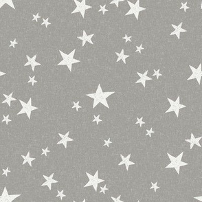 nursery stars fabric - fog sfx5803 - star fabric, stars fabric, kids fabric, bedding fabric, nursery fabric - terracotta trend