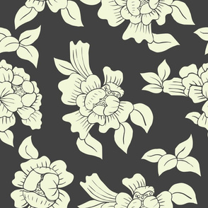 Chinese peonies REPEAT Grey_Prancheta 1