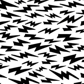 lightning bolt // bw lightning fabric bolts fabric black and white bolt design andrea lauren fabric nursery halloweens fabric