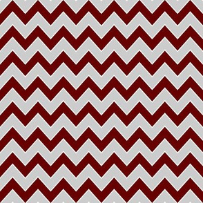 miss state chevron fabric - maroon and grey chevron, college fabric, sports fabric