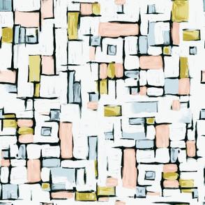 Mondrian Painted