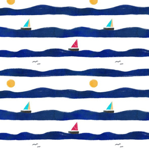 I am sailin