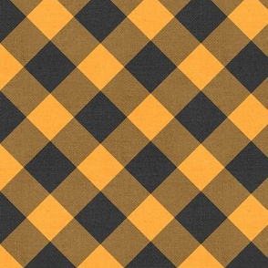 Sleepy Series Yellow Gingham Dark Large