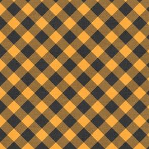 Sleepy Series Yellow Gingham Dark