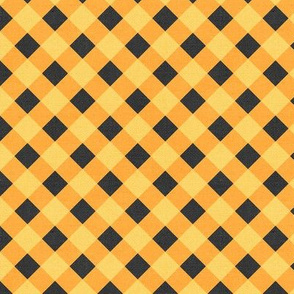 Sleepy Series Yellow Gingham Mid-tone