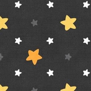 Sleepy Series Yellow Stars Dark Jumbo