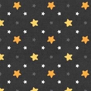 Sleepy Series Yellow Stars Dark Large