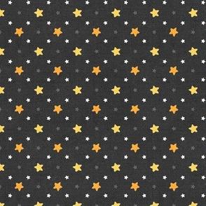 Sleepy Series Yellow Stars Dark