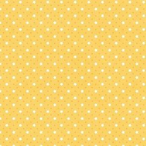 Sleepy Series Yellow Stars Light Ditsy