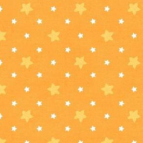 Sleepy Series Yellow Stars Mid-tone Large