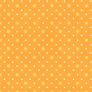 Sleepy Series Yellow Stars Mid-tone