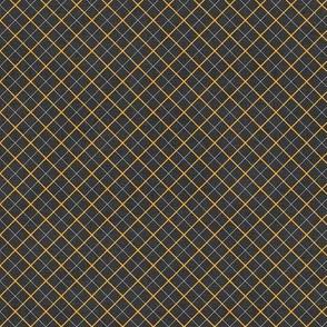 Sleepy Series Yellow Tattersall Dark Ditsy