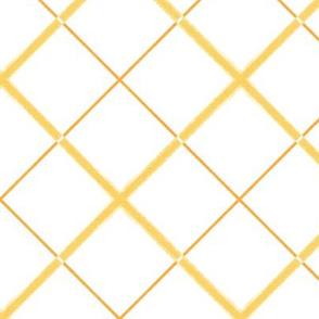 Sleepy Series Yellow Tattersall Light Jumbo