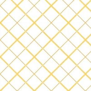 Sleepy Series Yellow Tattersall Light Large