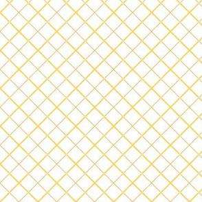 Sleepy Series Yellow Tattersall Light