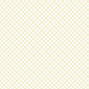 Sleepy Series Yellow Tattersall Light Ditsy