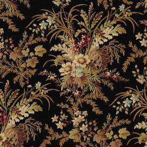 De Weese Victorian Bouquet on Black