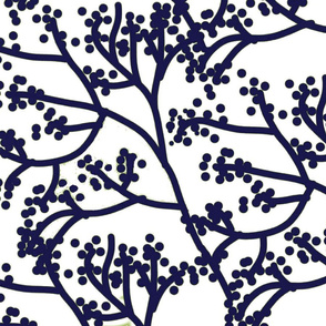 Winter Foliage Blue