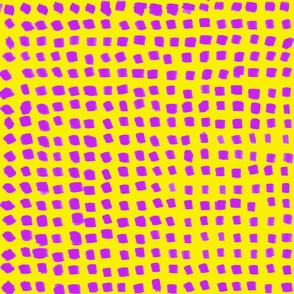 Dots Fuchsia and Yellow