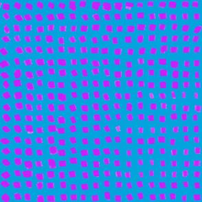 Dots Fuchsia amd Brilliant Blue small