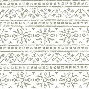 tribal texture sage green-02