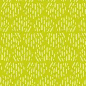 Apple Green Scandi Half Moon Texture Fat Eighth // Bright + Playful Color with Geometric Nature Motifs // Modern Quilting Collection // Small Scale // ZirkusDesign