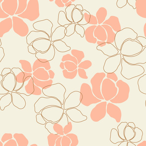 Large Scale Neutral Floral